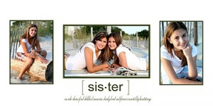 Love the sister quote. Lots of great photog inspiration here