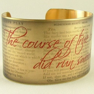 These are the oscar wilde quote jewelry clever brass cuff Pictures