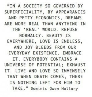 Live and love so immensely...