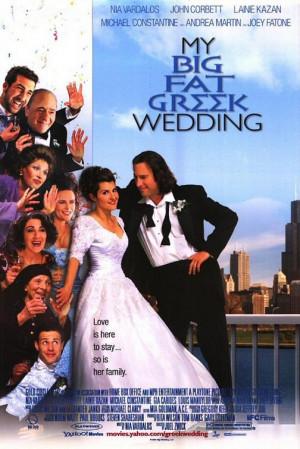 My Big Fat Greek Wedding (2002) Nia Vardalos, John Corbett, Michael ...