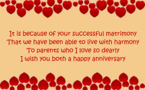 Happy Anniversary Card Message