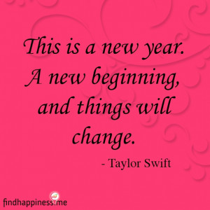 New Year New Beginning Quotes A new beginning, and things