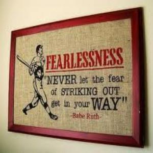 Baseball quote...