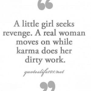 Real women don't need revenge.
