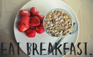 Breakfast is THE most important meal of your day, it powers you ...