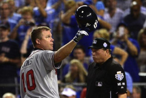 Chipper Jones ended his 19-year career with Atlanta this October ...