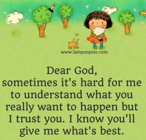 Trust quote via www.IamPoopsie.com