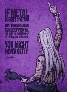 great metal quote more life metals music stuff metalhead quotes metals ...
