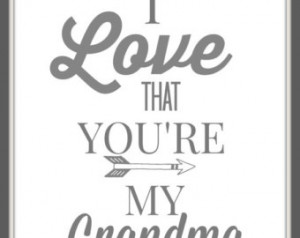 Nana Grandma Quotes Grey & white quote