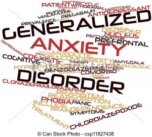 ... on. We talk about the diagnosis of Generalized Anxiety Disorder today
