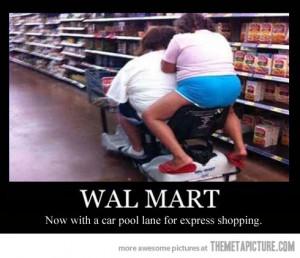 funny walmart crazy fat people