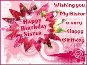birthday wishes for sister in english quotes for facebook