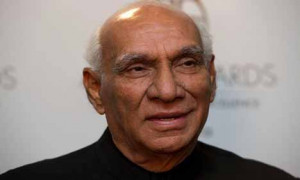 poured in on Monday for the renowned Indian filmmaker Yash Chopra ...