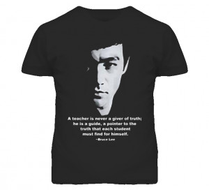 The legend martial artist bruce lee jet kundo teacher quotes T Shirt