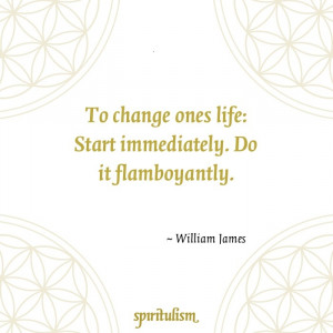 Quote - William James