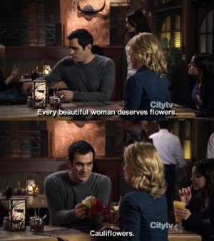 phil dunphy #Claire Dunphy #cauliflower #Modern Family