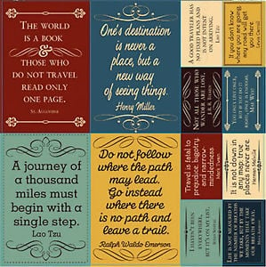 Quotes About Travel For Scrapbooking Travel Scrapbook Quotes