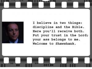 The Shawshank Redemption   Bob Gunton   Screenplay: Frank Darabont