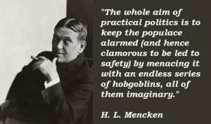 Notable Quote – H.L. Mencken