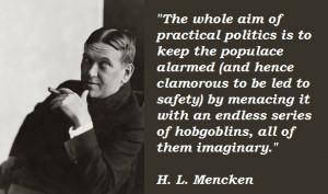 Notable Quote – H.L. Mencken