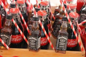 13. Jack and coke.