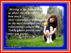 Cute quotes about missing your ex boyfriend
