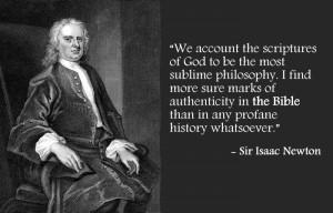 Sir Isaac Newton, English mathematician and scientist (1642-1727)