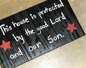 ... Patriotic Stars American Pride Wood Plaque Gift - Inspirational Quote