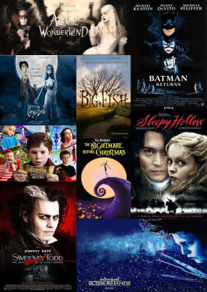 ... what happens in tim burton s movies and my opinion of those movies