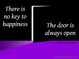 quotes, about, life, happiness, mother, teresa