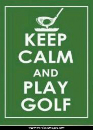 Motivational quotes golf