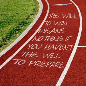 what they should do - write inspirational quotes all along the track ...