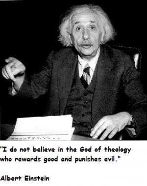 Albert Einstein Quotes Evil