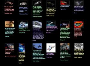 star wars text star trek quotes battlestar galactica spaceships ...