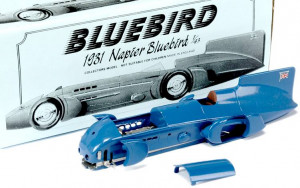 And his Bluebird water and land speed record vehicles