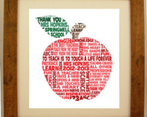 Teacher Retirement Clip Art Personalised teacher