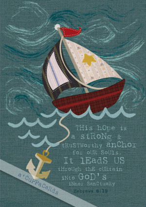 Anchor Quotes From The Bible I place the quote art under