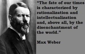 Weber Quote