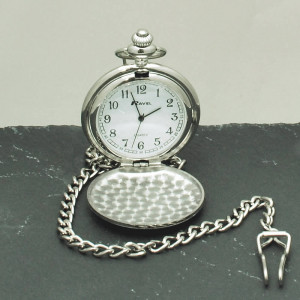 ... here : Home / Birthdays / Gifts For Him / Personalised Pocket Watch