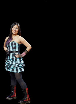 Glee Tina Cohen Chang...