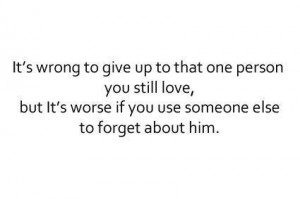boy, girl, love, quotes, wrong - inspiring picture on Favim.com