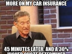 Maury Lie Detector Meme: The higher quote determined that was a lie ...