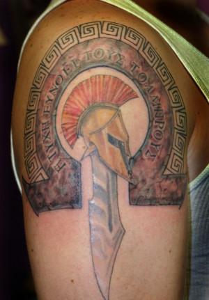 50 Greek Tattoo Designs