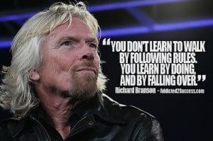 Richard Branson Entrepreneur Picture Quote For Success