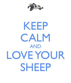 sheep love by joannagebka first love sheep print sheep love sheep love ...