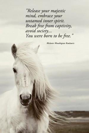 ... break free from captivity avoid society you were born to be free
