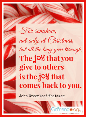 Quotes About Christmas Giving to Others