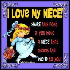 love my niece Sharlese