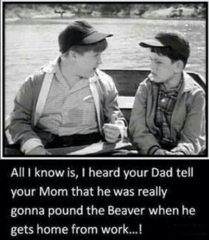 Leave it to Beaver Beaver and Larry