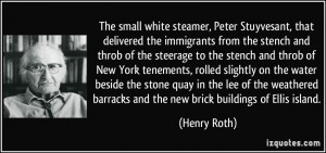 The small white steamer, Peter Stuyvesant, that delivered the ...